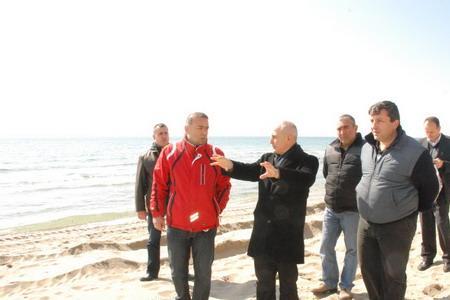 Marmara'nın En Uzun Kordonu Kumburgaz'da yapılıyor... Haberi