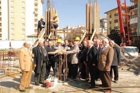 Sinanoba'ya Akşemsettin Camiinin temeli atıldı… Haberi