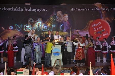 Dünya birincisi festivalin açılışı yapıldı… Haberi