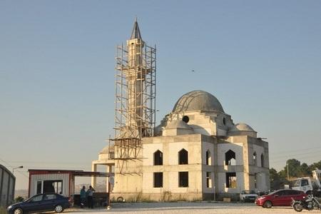 Ali Rıza Efendi Cami bitmek üzere…  Haberi