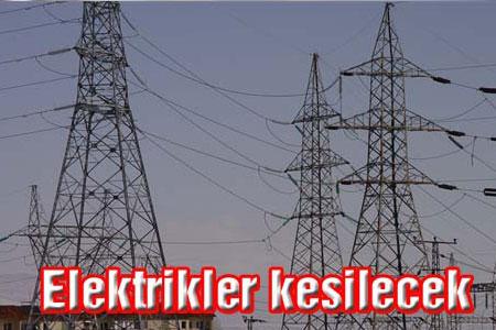 Yine Elektrikler Kesilecek Haberi
