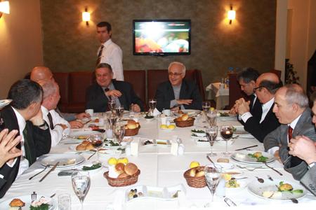 CHP'li Başkanlar İl Başkanı ile buluştu…  Haberi