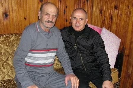 Akgün'den Ziya Bora'ya geçmiş olsun ziyareti... Haberi